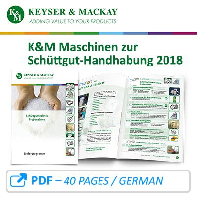 Bulk material handling delivery program from Keyser & Mackay 2018