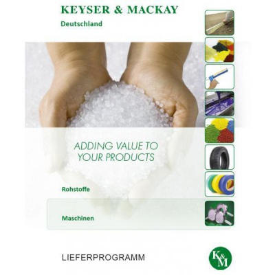 Raw material & Maschines - Full range brochure K&M