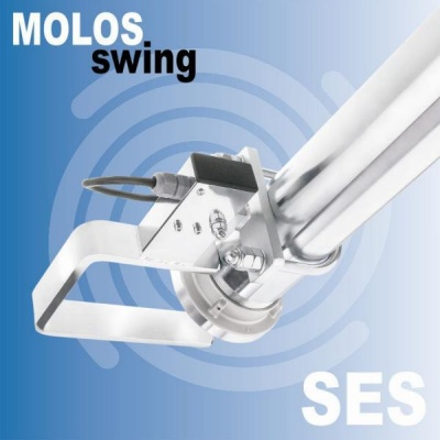 MOLOSswing Swivelling lever with limit switch