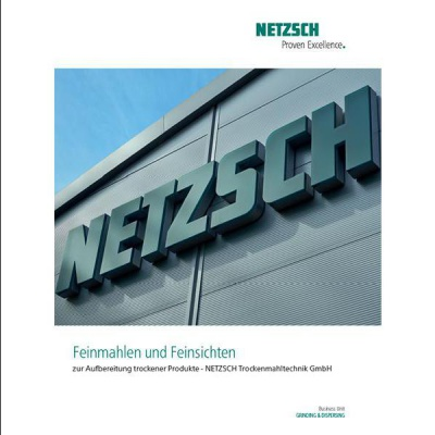 NETZSCH Program Dry Processing