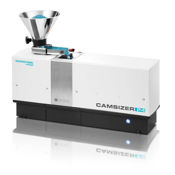 Dynamic Image Analyzer CAMSIZER P4: Particle size & shape analysis of bulk goods from 20 µm to 30 mm
