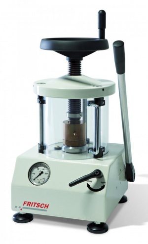 NEW: Pellet Press - ideal for the preparation of high-quality pellets! Manual. Hydraulic. Easy!