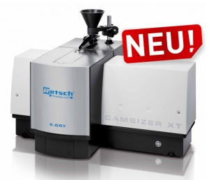 Wide measuring range and flexible dispersion options Optical particle analysis with CAMSIZER XT