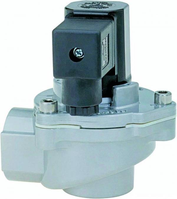 Heavy-duty filter valve for pressures of up to 12 bar