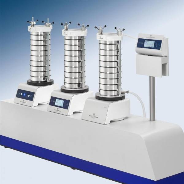 HAVER EML 200 THE NEW GENERATION OF TEST SIEVE SHAKERS