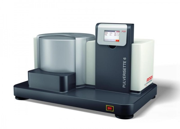 High-performance grinding down into the nano range! NEW: Planetary Mill PULVERISETTE 6 premium line!