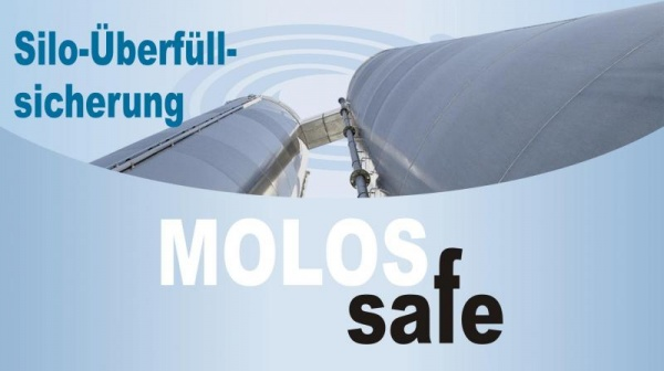 MOLOSsafe - Protection system for silos from MOLLET Reliable protection system for silos with pneumatic fillng processes