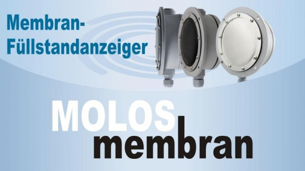 MOLOSmembran level indicator Level measurement in bulk solids for less money