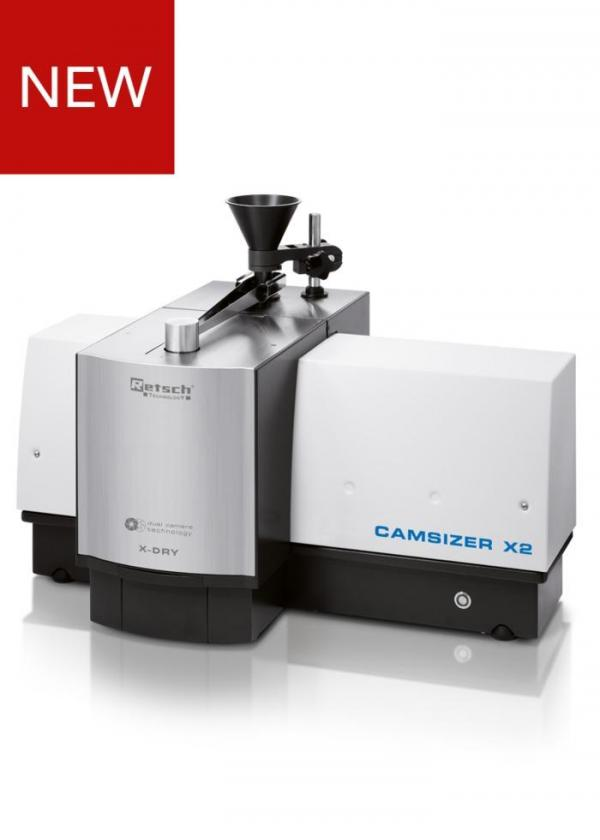 Higher resolution and extended measuring range  Retsch Technology's new particle analyzer CAMSIZER X2