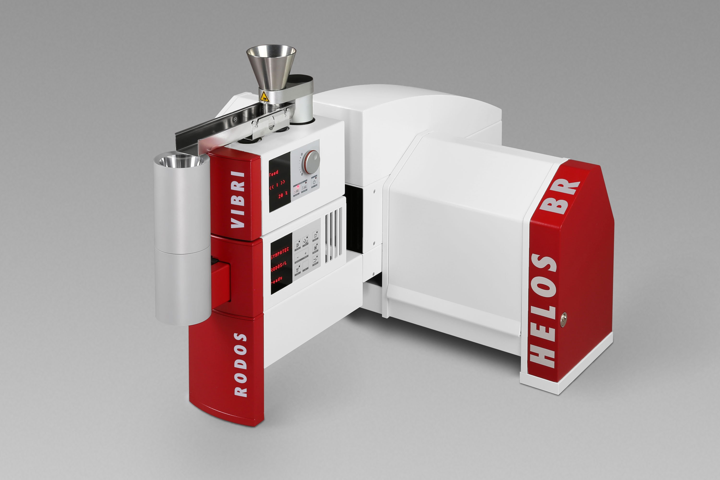 HELOS | RODOS & Co. Laser Diffraction | Particle Size and Particle Size Distribution from below 0.1 µm to 8,75