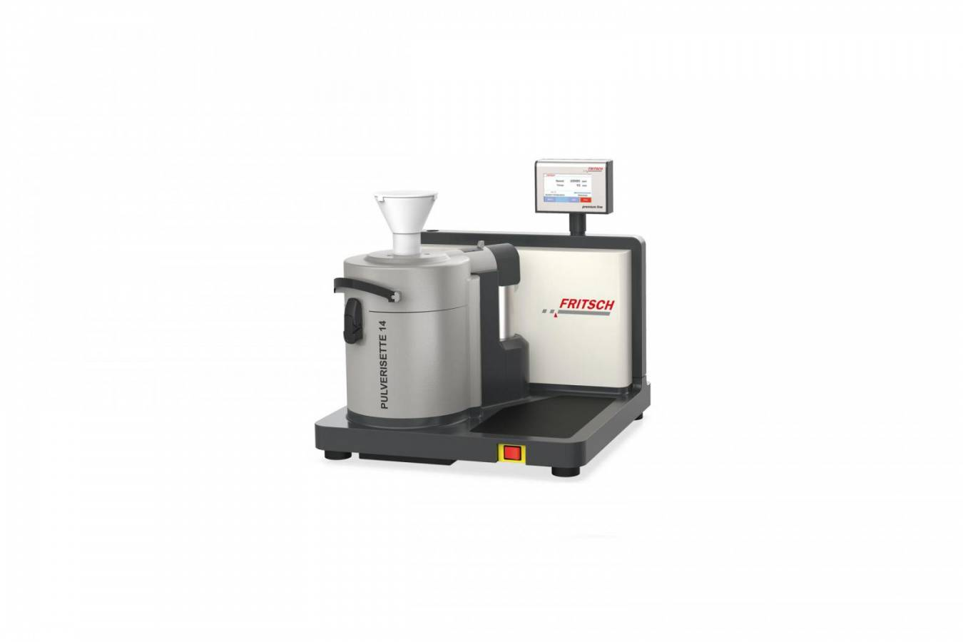 NEW Variable Speed Rotor Mill Pulverisette 14 premium line Efficient pre- and fine grinding in one instrument with impact or cutting rotor