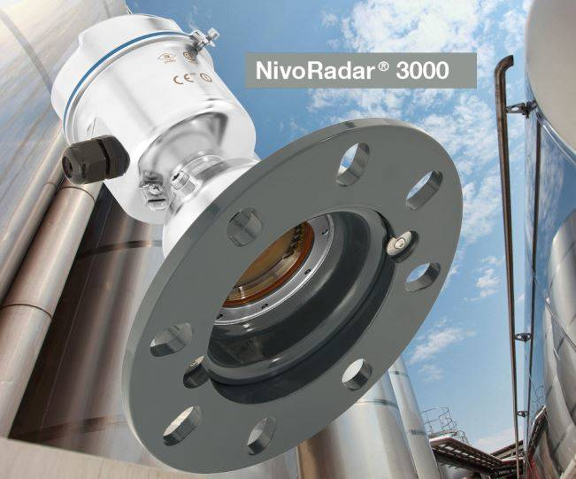 Free radiating NivoRadar® as innovative solution between 1,400 and 1,600°C Measuring materials in a 15-meter silo in Spain